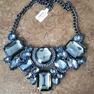 NWT Torrid Black Diamond  statement necklace